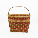 Red and Green Picnic Basket