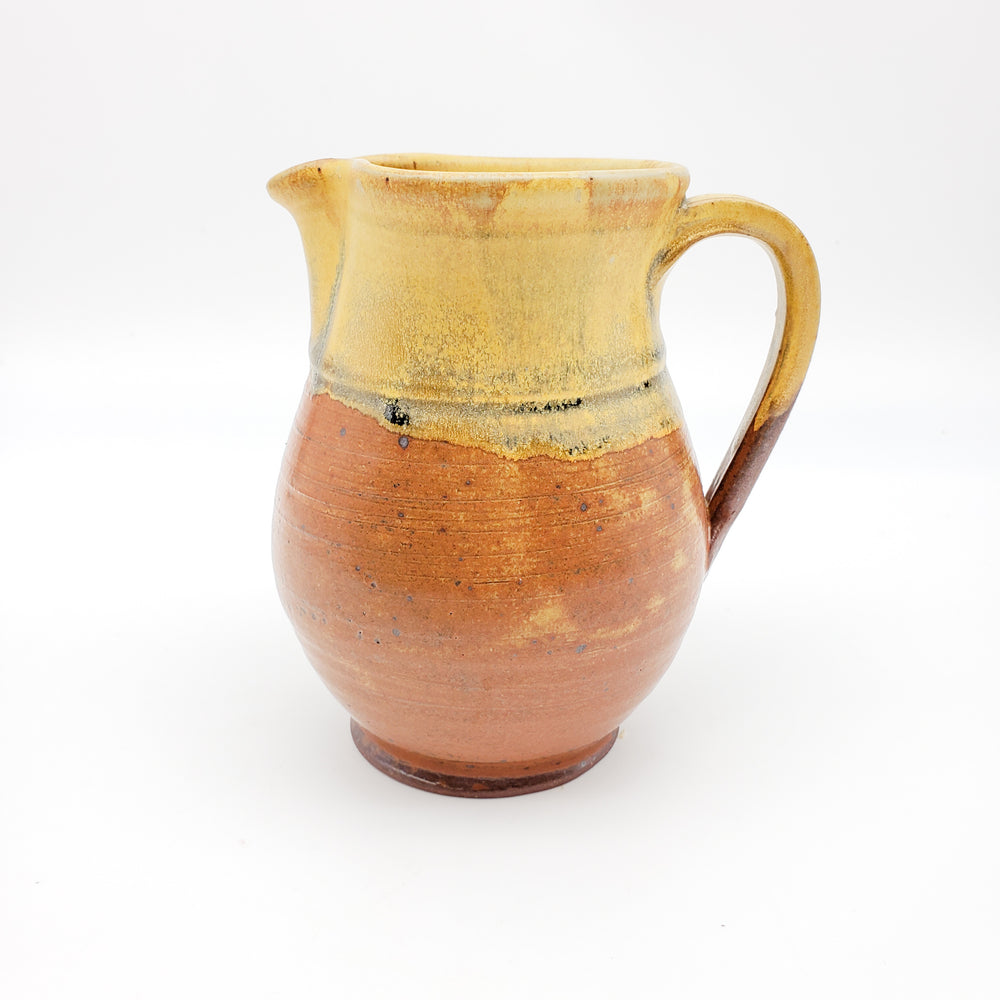 Pitcher Brown and Yellow