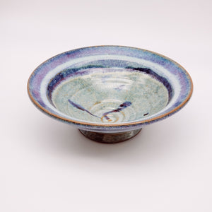 Load image into Gallery viewer, Medim Bowl Sage and Purple