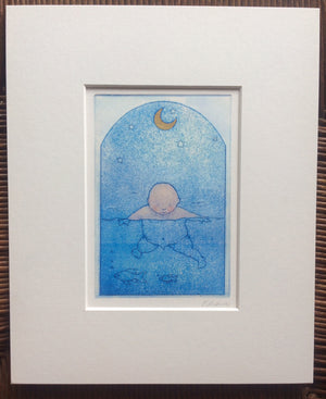 Load image into Gallery viewer, Water Baby Mini Print