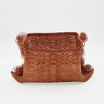 Hand-woven Copper Basket