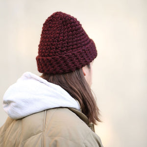 Load image into Gallery viewer, Unisex Beanie / Plum