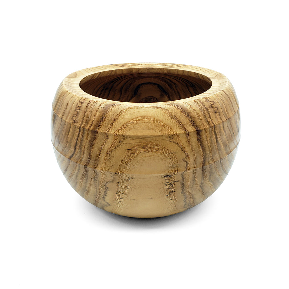 Load image into Gallery viewer, Pagoda Wood Bowl