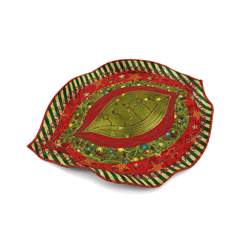 Holiday Leaf Bowl Sculpture