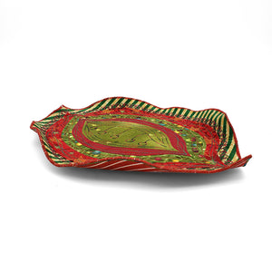 Load image into Gallery viewer, Holiday Leaf Bowl Sculpture