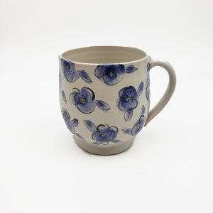 Load image into Gallery viewer, Blue Floral Mug
