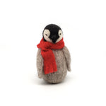 Small Penguin with Red Scarf