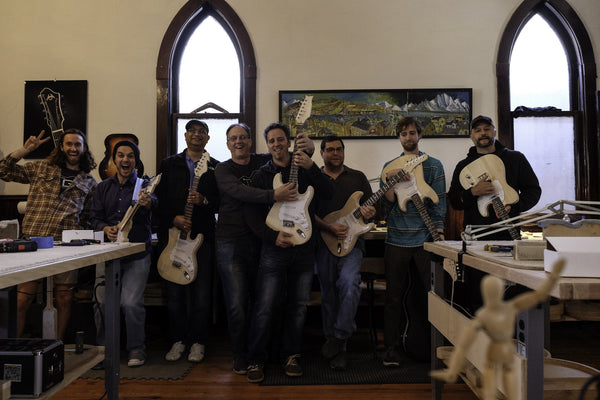 electric guitar building school
