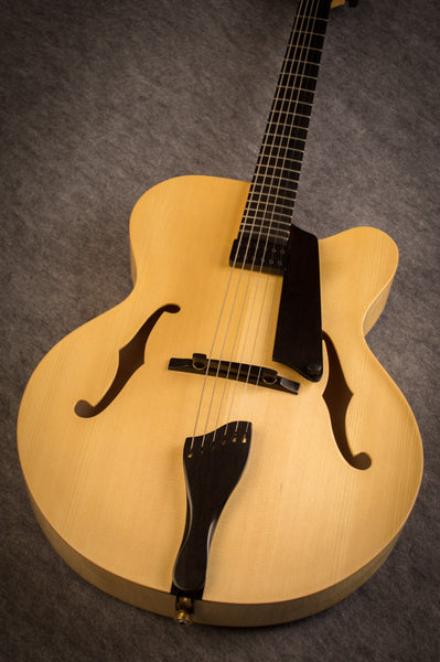 Natural Archtop Guitar