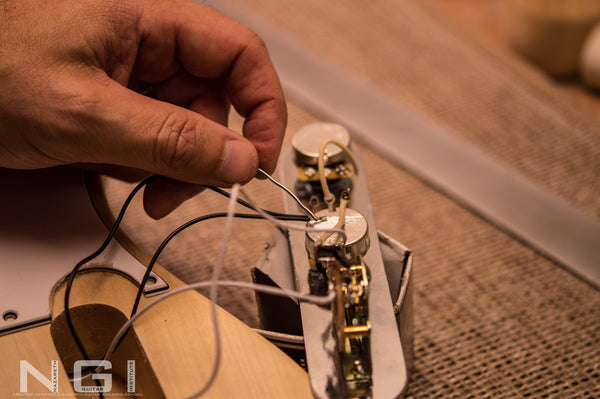 Learn how to wire a guitar