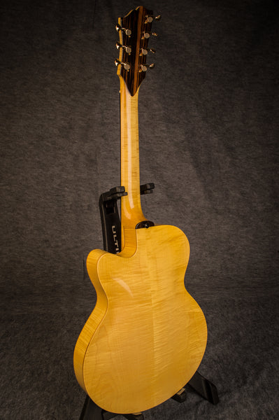 Bucky Pizzarelli Archtop Guitar Back
