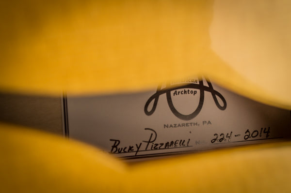 Bucky Pizzarelli's Guitar