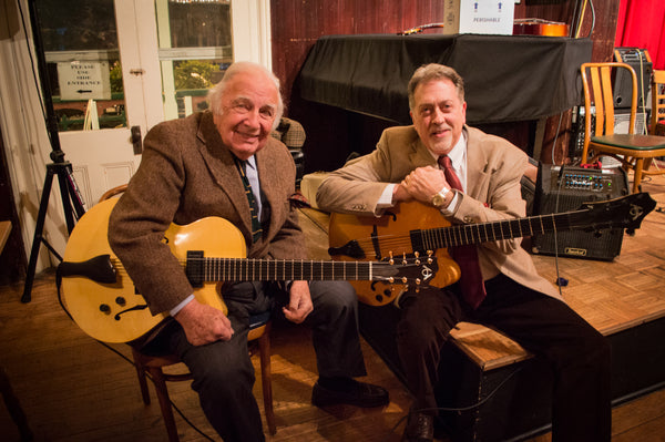 Bucky Pizzarelli Ed Laub with American Archtop Guitars