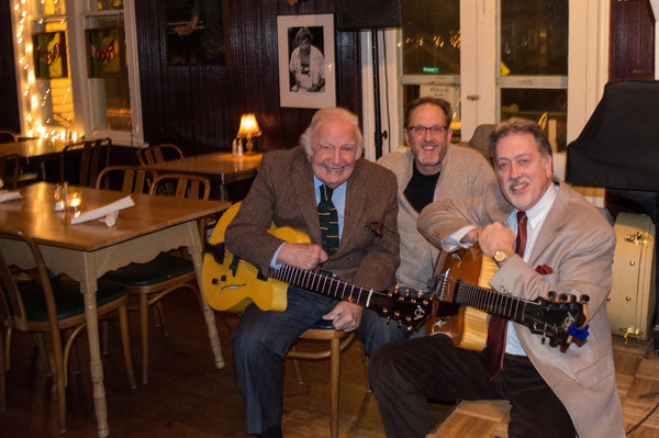 Bucky Pizzarelli Dale Unger Ed Laub American Archtop Guitars
