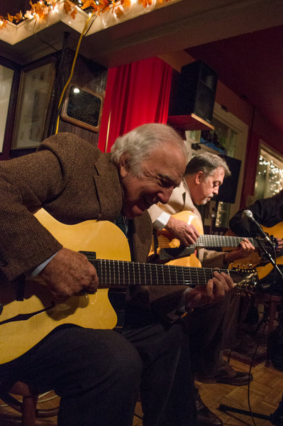 Bucky Pizzarelli Dale Unger Ed Laub playing American Archtop Guitars
