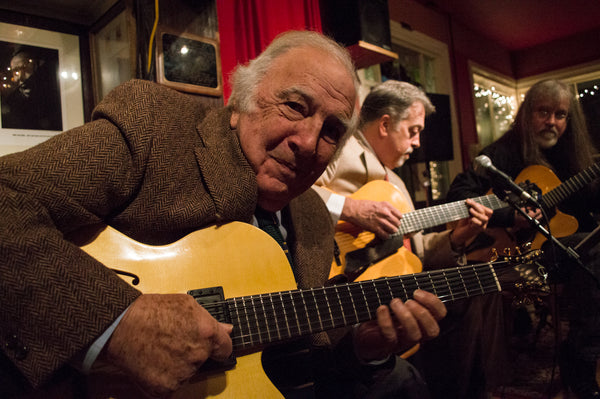 BUCKY PIZZARELLI playing his Archtop Guitar