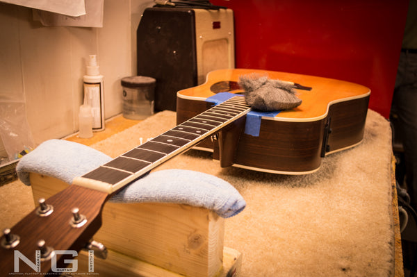 Martin Guitar Set up