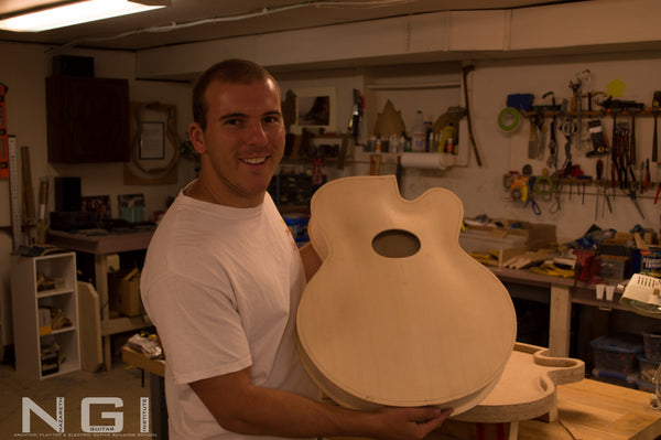 body of a archtop