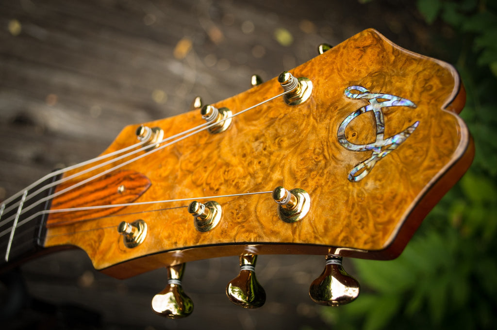 American Archtop Guitar Headstock