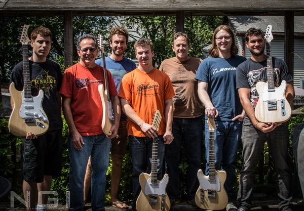 electric guitar building workshop