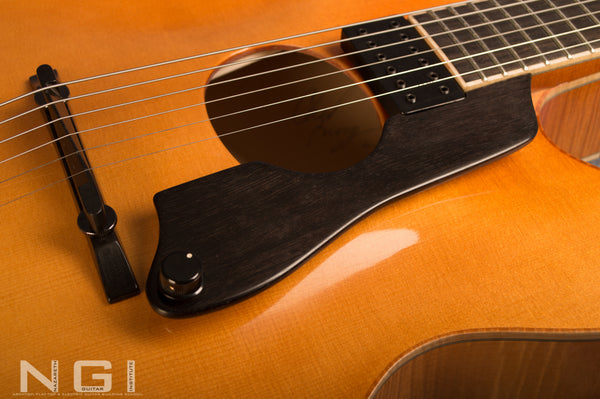 oval archtop guitar