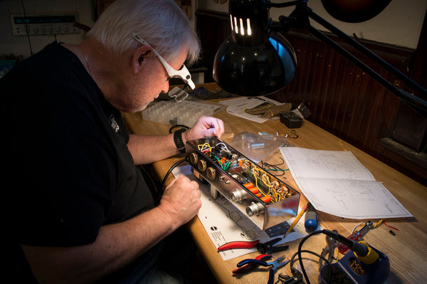 fender amp building