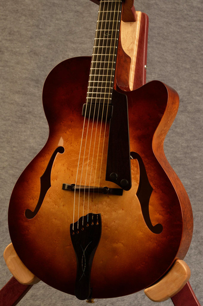 Birdseye Maple Archtop Guitar