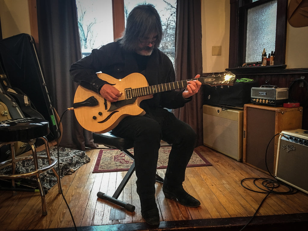 Larry Campbell and American Archtop Guitar