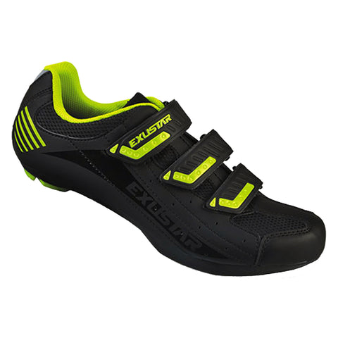 Exustar SR404A Road Shoe Black/Green