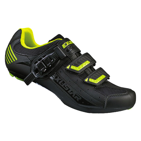 Exustar SR404AB Road Shoe Black/Green
