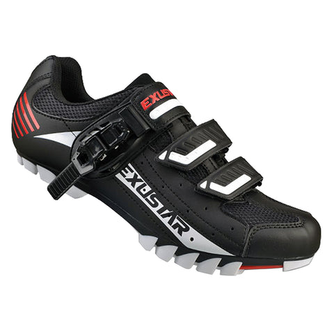 Exustar SM308B MTB Shoe 46 White/Black/Red