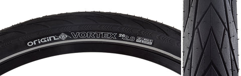 Origin8 Vortex Wire Belt Tires Black