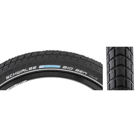 Schwalbe Big Ben Active Twin K-Guard 27.5x2.00 Black Wire Tire