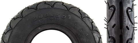 Sunlite Scooter 200x50 4PR HS603 K909 Wire Tire