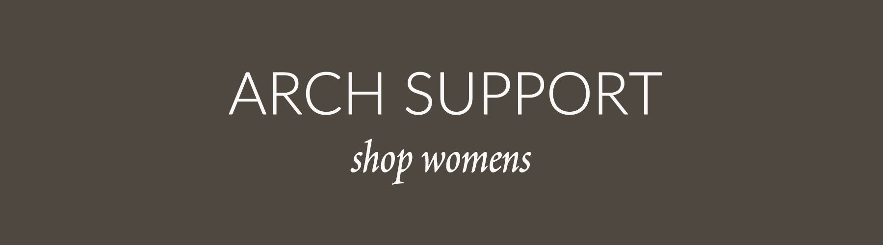 Womens Arch Support