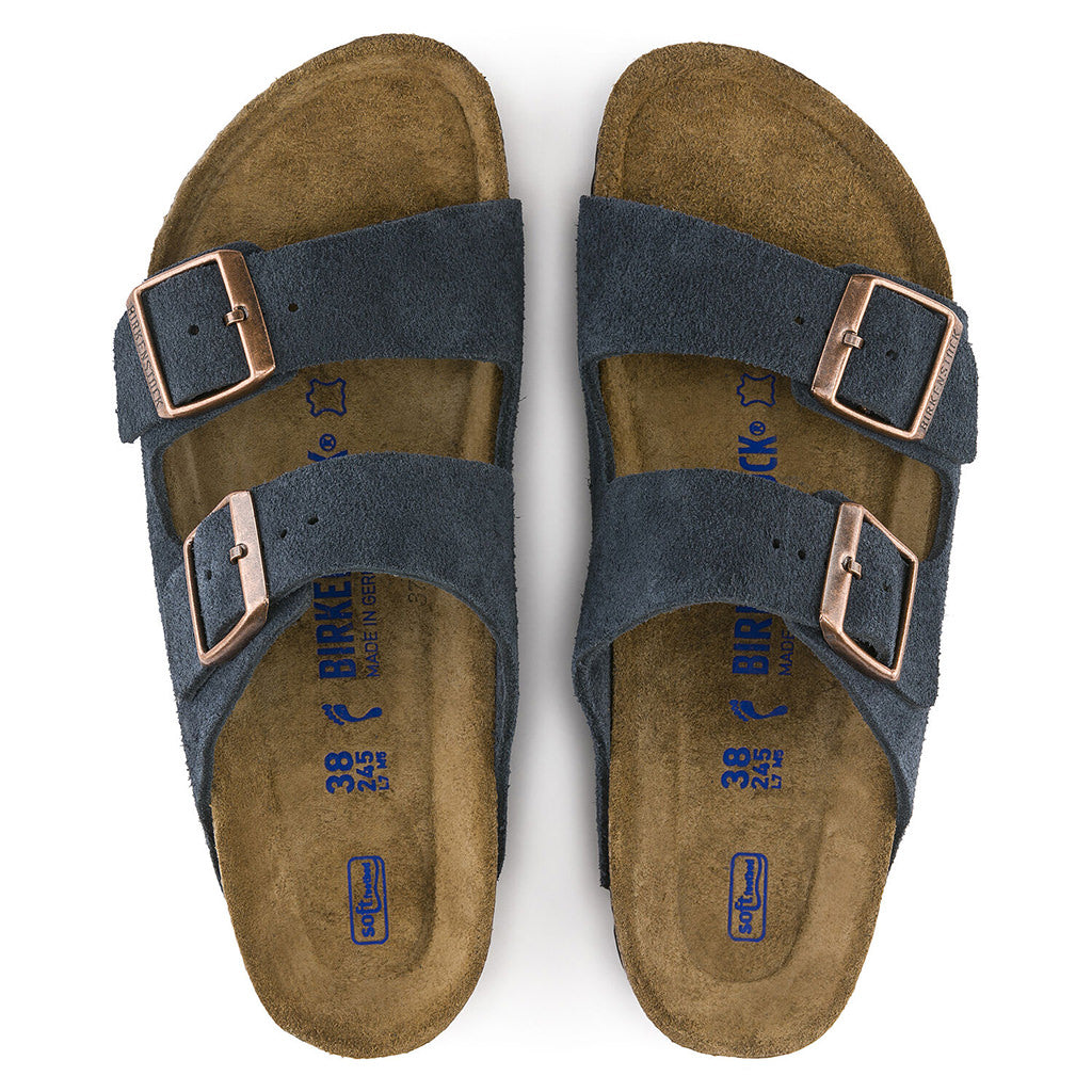 Arizona Suede Soft Footbed - Navy - 1012423