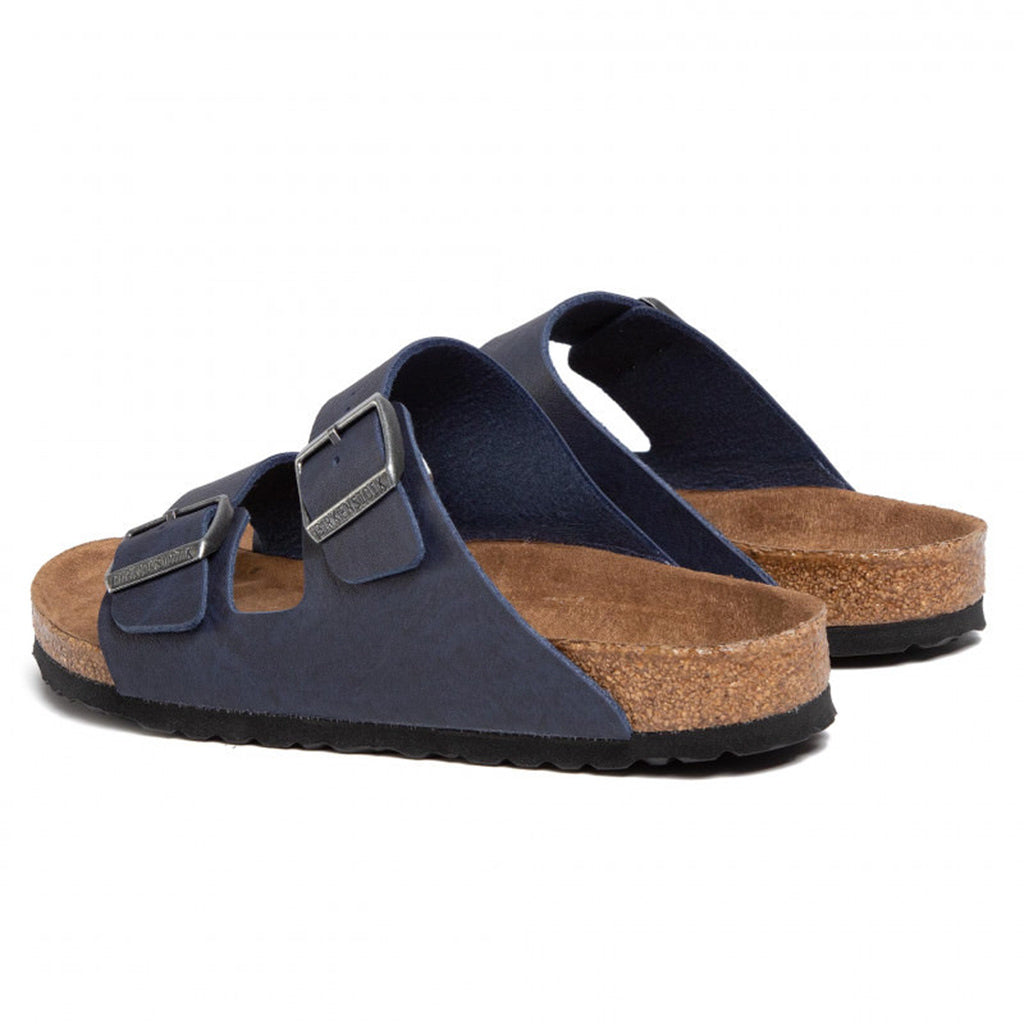 Birkenstock Arizona Birko Flor Vegan - Saddle Navy - 1018173