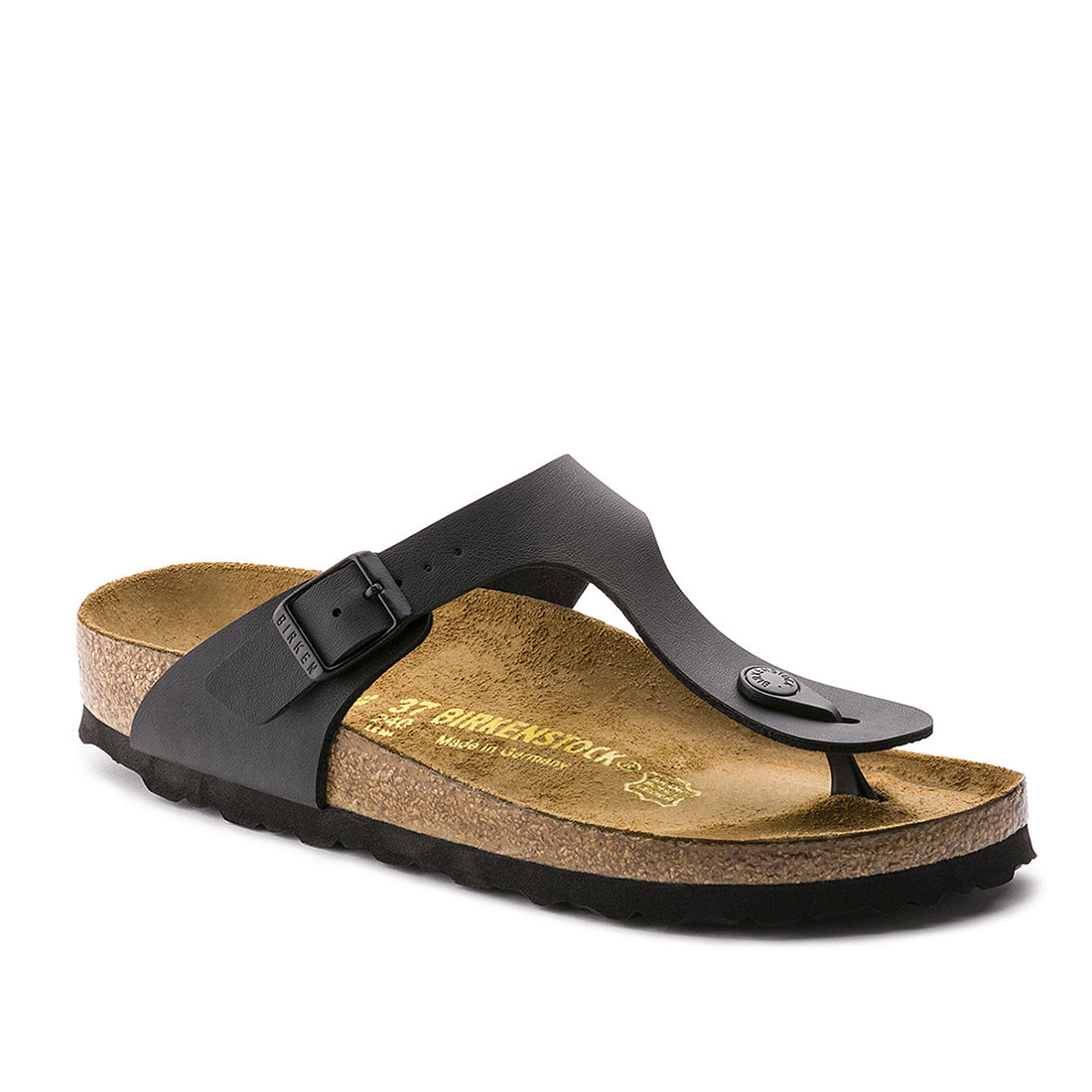 Gizeh Birko Flor (Narrow) - Black - 043693