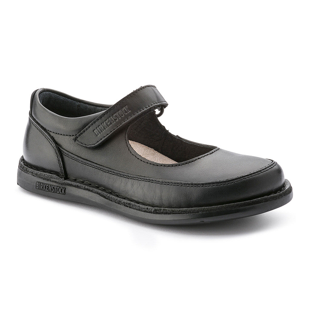June Mary Jane Leather Kids - Black - 493041