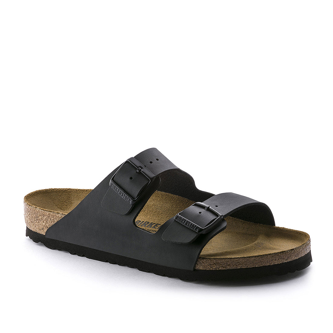 Arizona Leather Smooth (Narrow) - Black - 051193