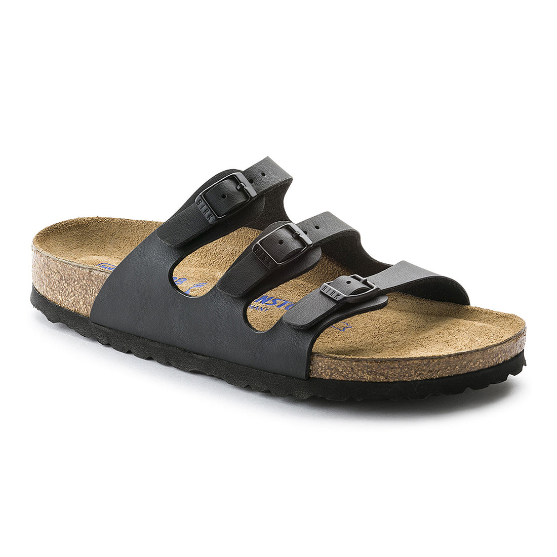 Florida Birko Flor Soft Footbed (Narrow) - Black - 053013