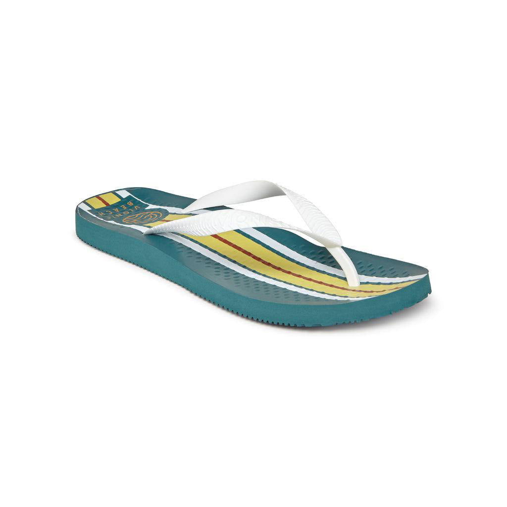 Beach Manly - Teal Stripe