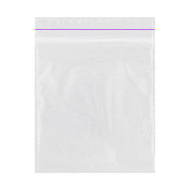 Zip Bag 25x25 Tp-7 Clear