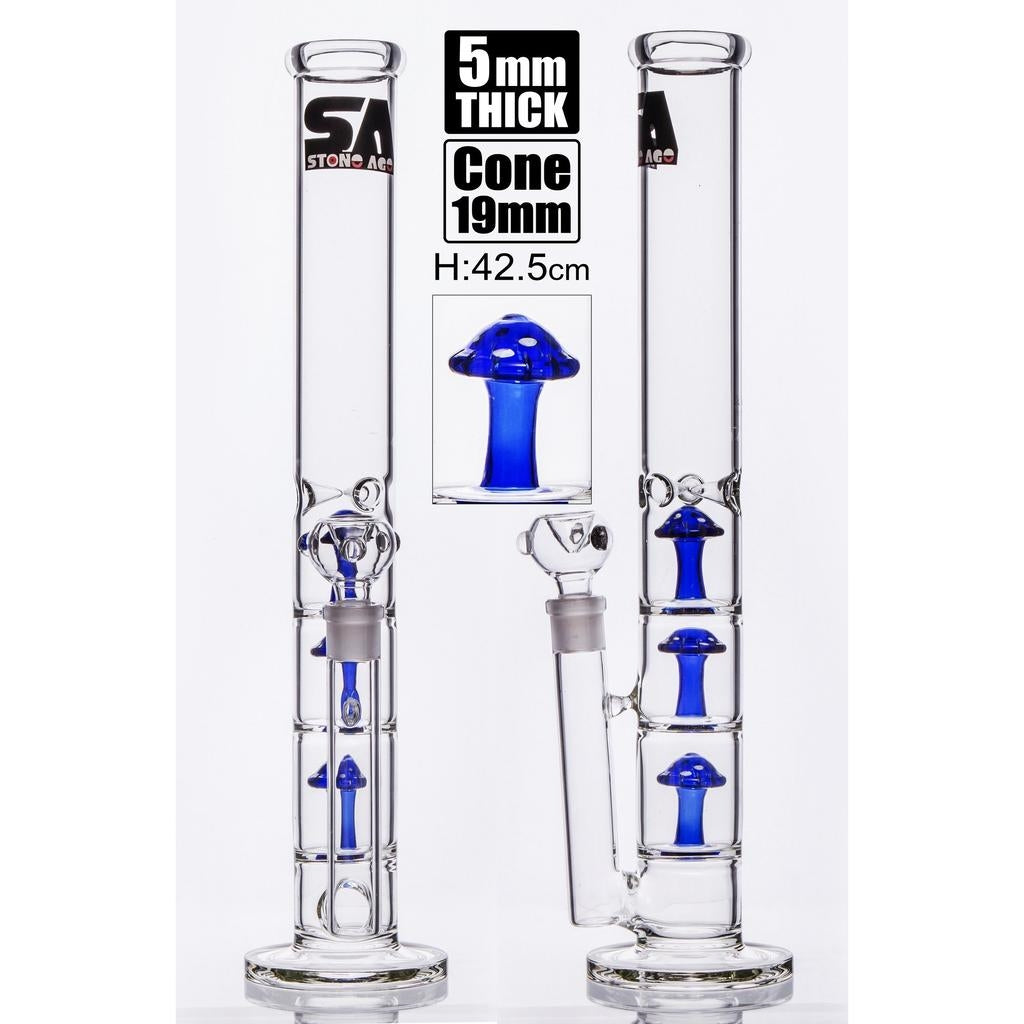 Stone Age With Triple Mushroom Tar Catcher Blue