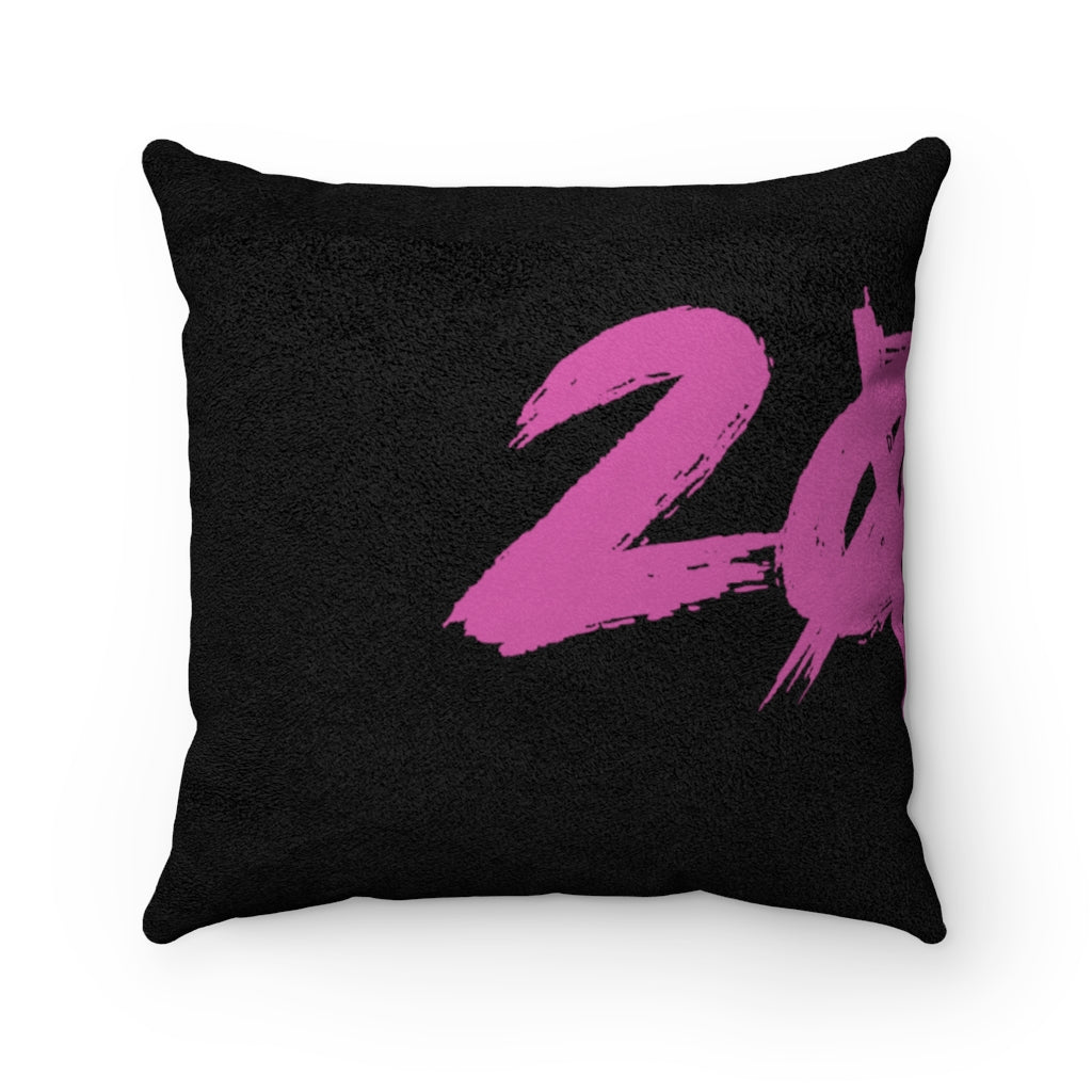 2020 Faux Suede Square Pillow
