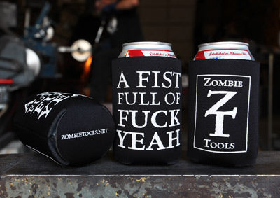 Fist Full of Fuck Yeah Can Coozie