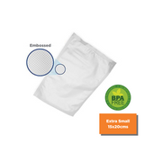 Pre-Cut Vacuum Bags Extra Small 15 X 20 CM (50 pcs/pack)