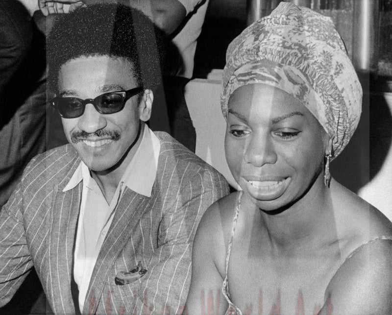 H. Rap Brown and Nina Simone
