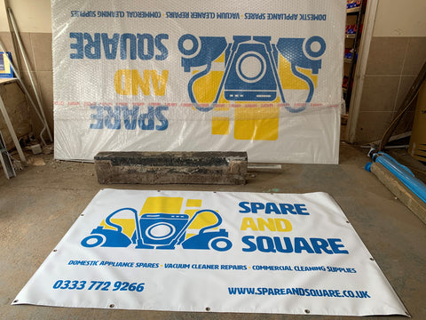 Spare and Square Signage