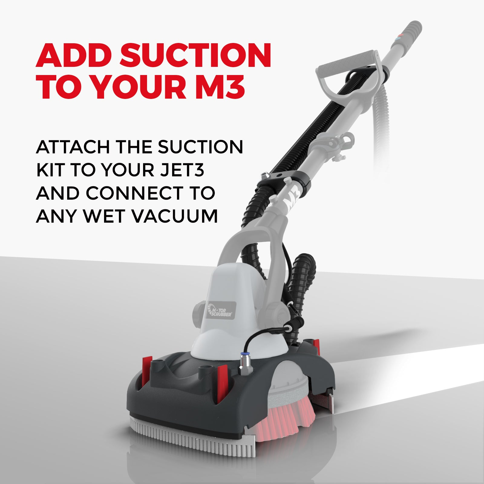 Add suction to M3